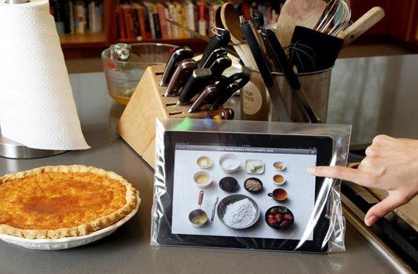 iPad, кухня
