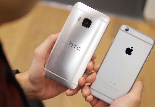 HTC One M9 vs iPhone 6 – сравнение флагманов