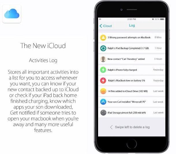 Концепт iOS9 iCloud 2