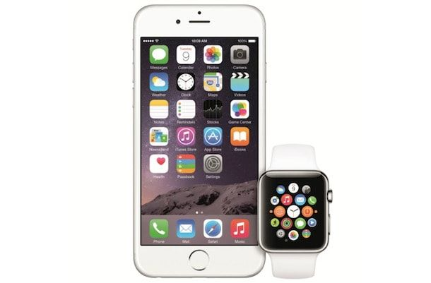 iphone 6 apple watch ios 8
