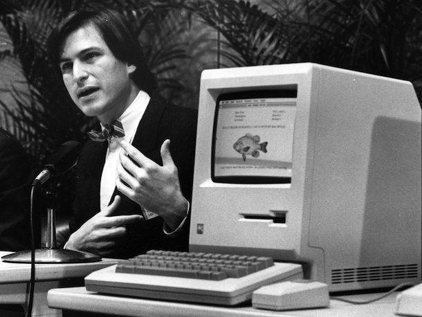 Стив Джобс и первый Macintoch