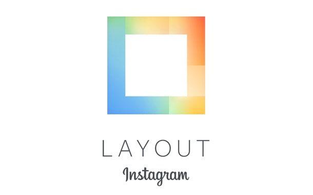 layout, приложение, Instagram