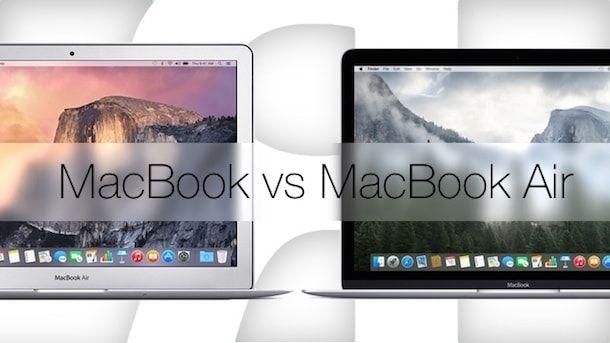 MacBook 2015 vs MacBook Air – сравнение ноутбуков