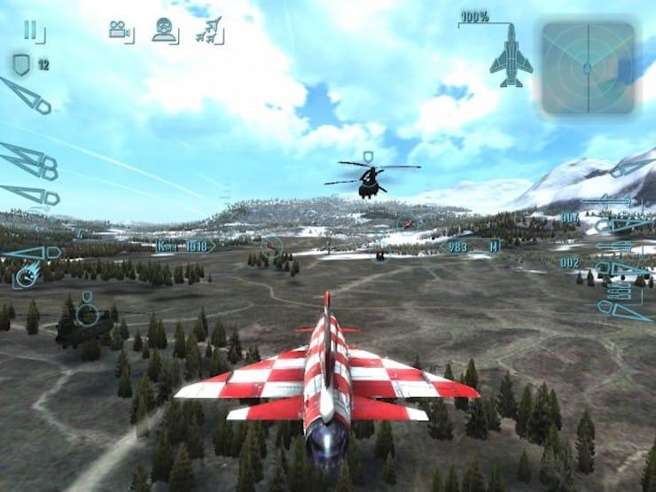 Sky Gamblers: Cold War - популярный авиасимулятор для iPhone и iPad