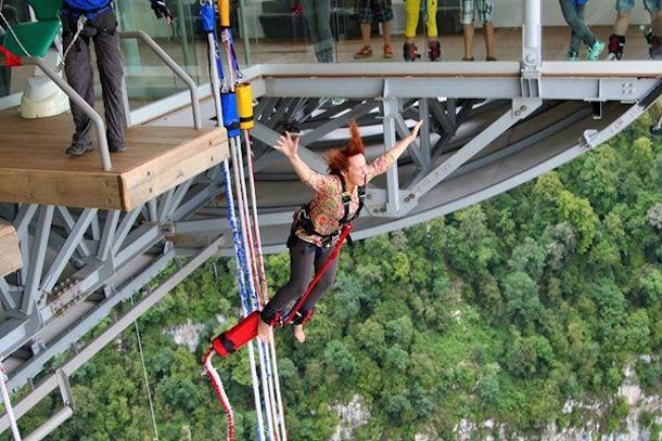 прыжки skypark aj hackett