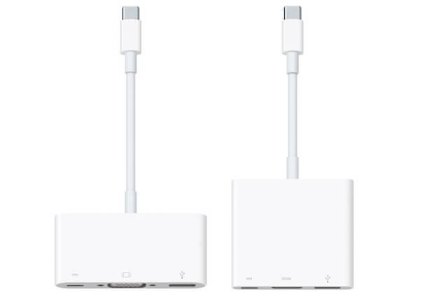 Переходники на USB-C нового MacBook