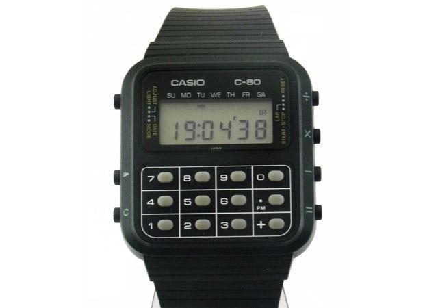 умные часы, С-80 Calculator Watch