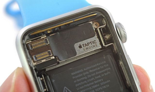 Apple Watch, Taptic Engine