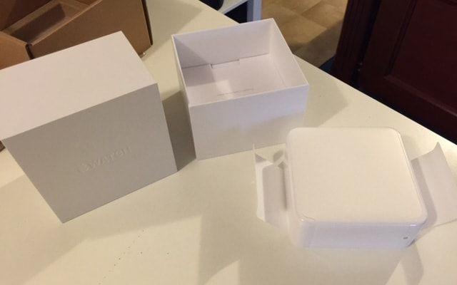 Apple Watch. распаковка