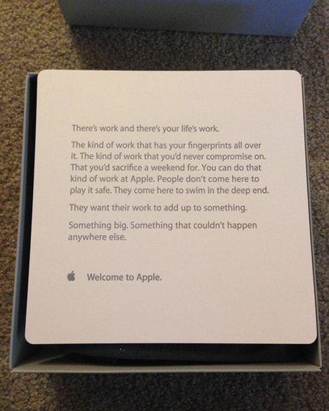Apple, стажеры