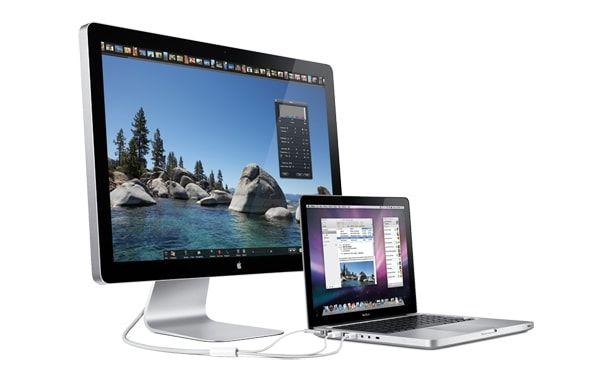 MacBook Pro, Thunderbolt Display