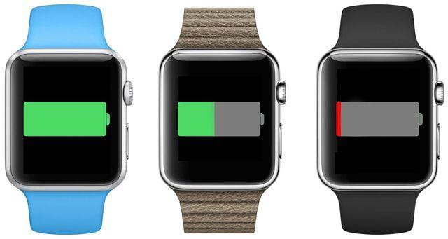 Apple Watch, аккумулятор