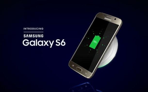 Samsung S6, безпроводная зарядка