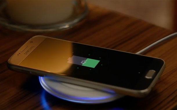 Samsung S6, беспроводная зарядка