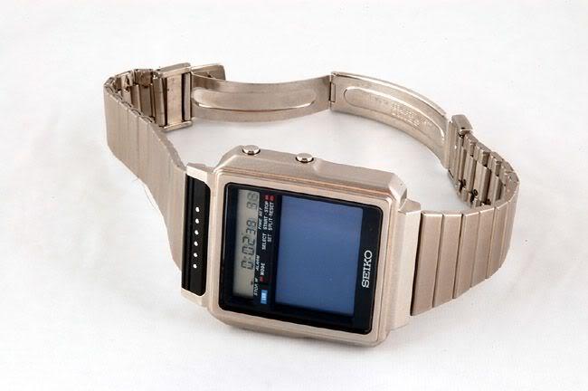 умные часы, Seiko TV Watch