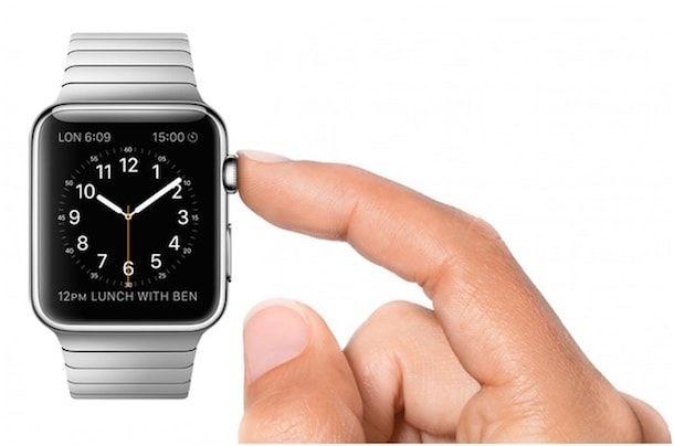 apple watch - переключение между приложениями