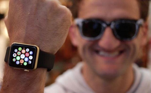 Как покрасить черные Apple Watch в золотой цвет