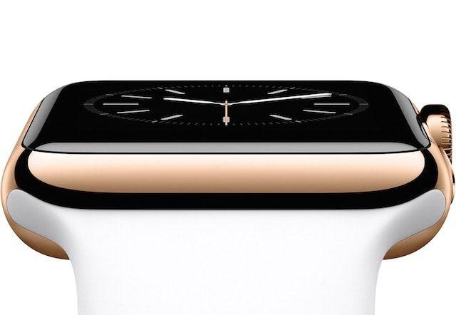 золотые часы apple watch edition