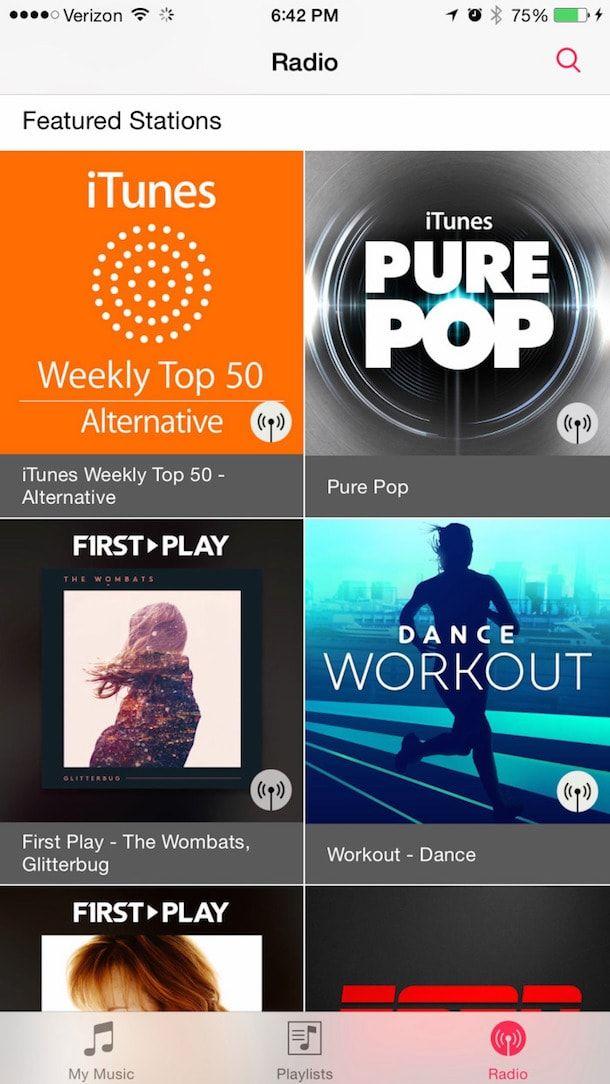 ios 8.4 с новым приложением Музыка