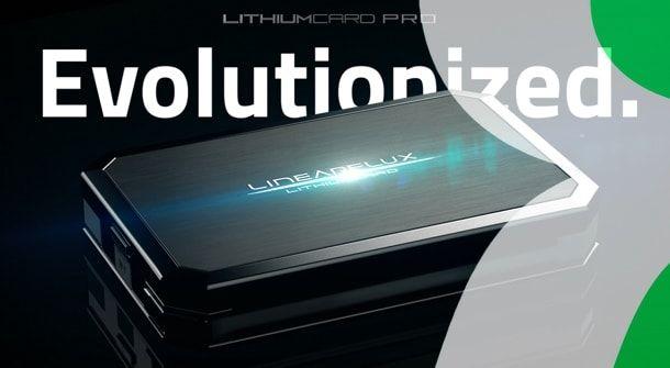 LithiumCard PRO — самое быстрое зарядное устройство-аккумулятор для iPhone и iPad