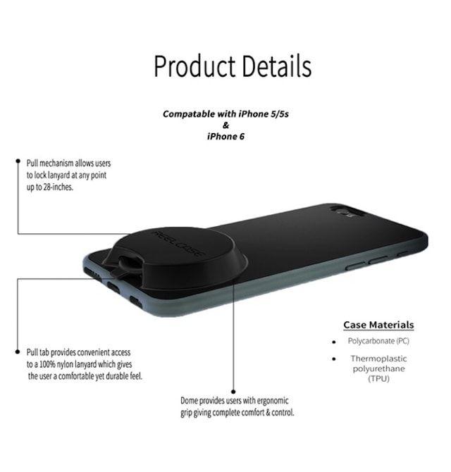 ReelCase — функциональный чехол для iPhone 6 с выдвижным ремешком