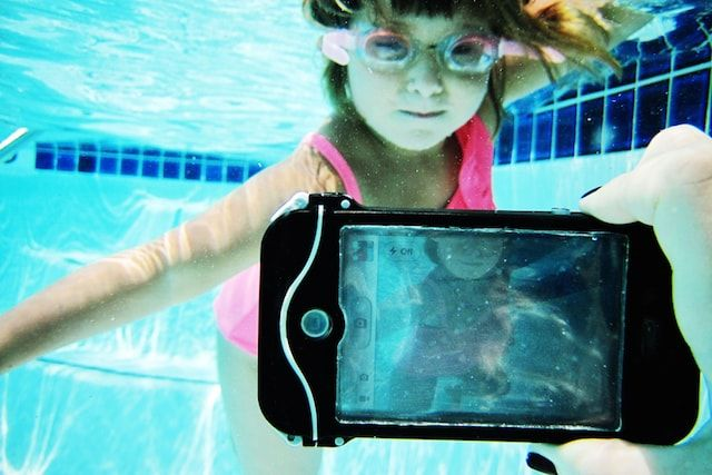 подводная съемка на iPhone