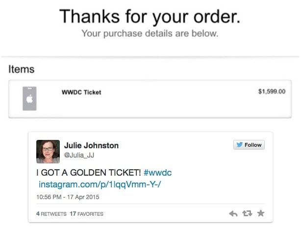 лотерея WWDC