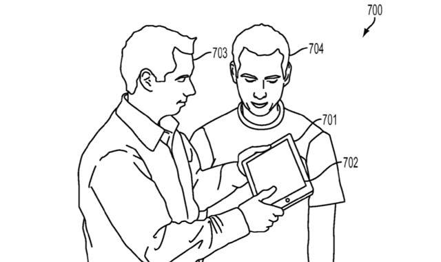 Apple, 3D, патент