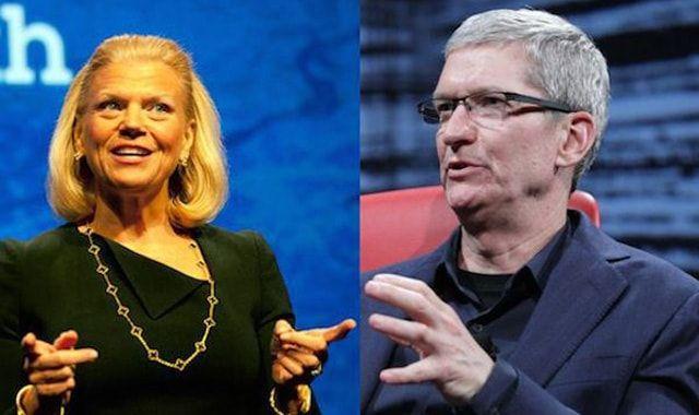Apple, IBM