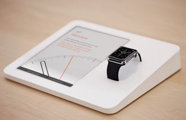 Apple Watch Demo stand