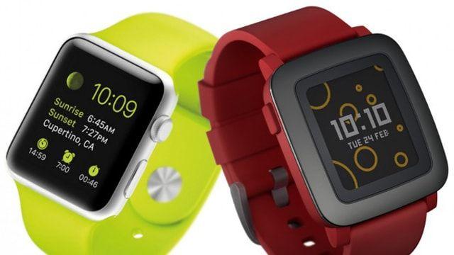 Apple Watch, Pebble