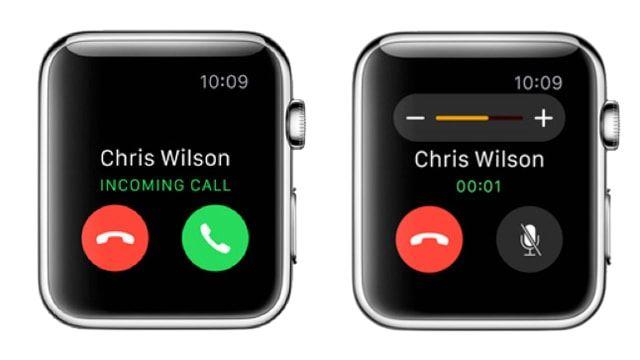 Apple Watch, звонки, инструкция