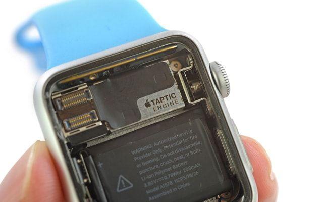 Apple Watch, стоимость компонентов