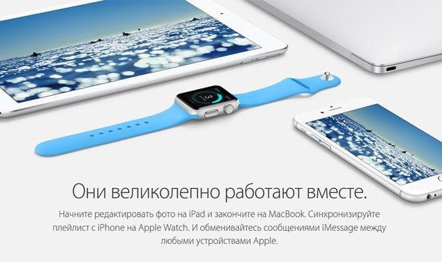 Apple Watch, экосистема