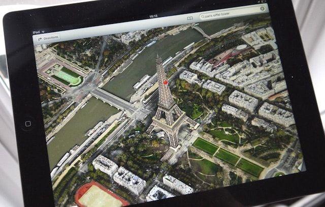Apple Maps Paris Flyover