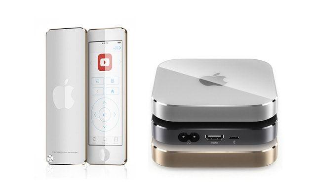 Apple TV, Apple Remote, концепт