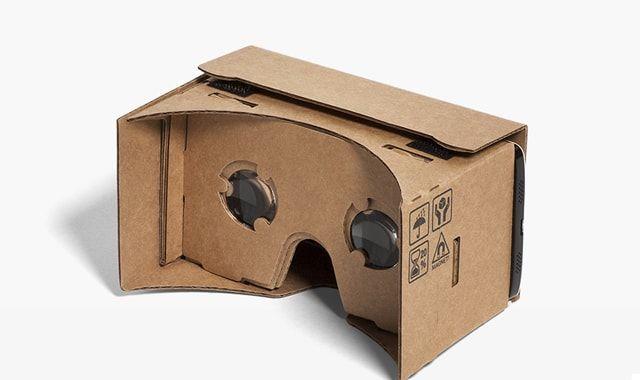 Cardboard, Google