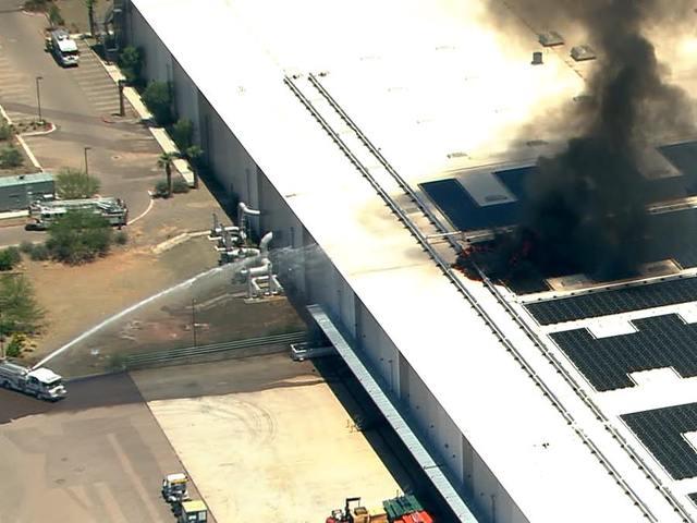 На одном из американских заводов Apple произошел пожар