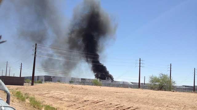 пожар на заводе Apple