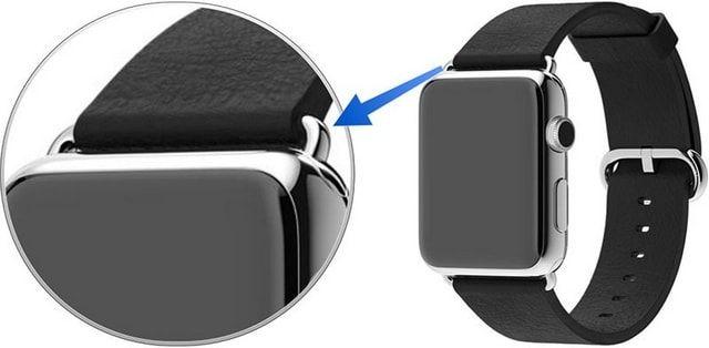 Apple Watch с классической пряжкой