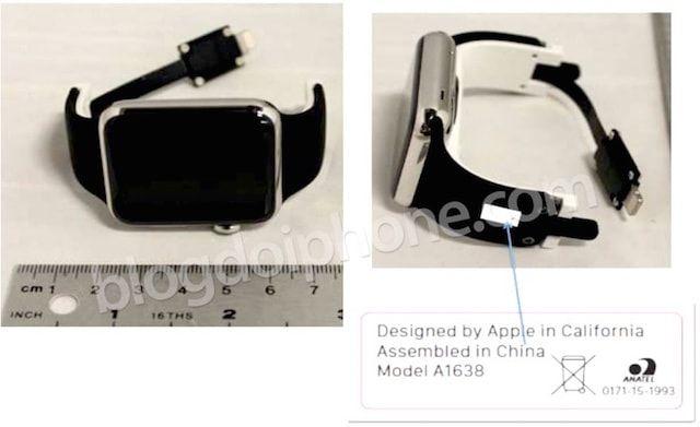 стенд  Apple Watch в Apple Store