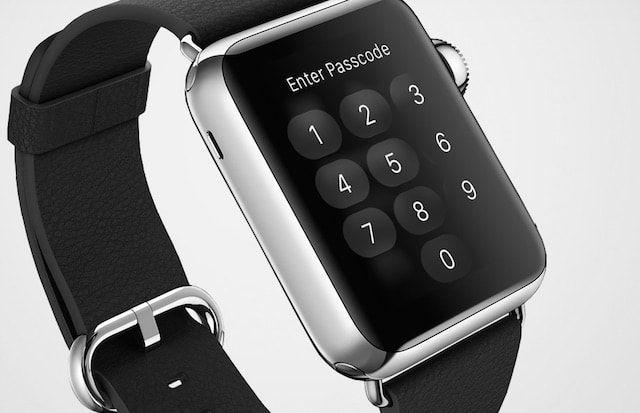 apple watch password