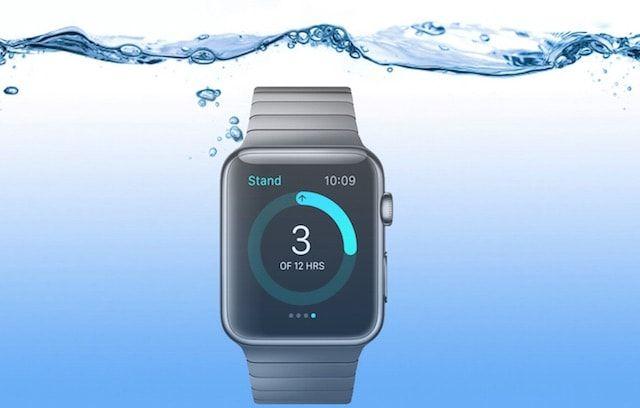 водонепроницаемость Apple Watch