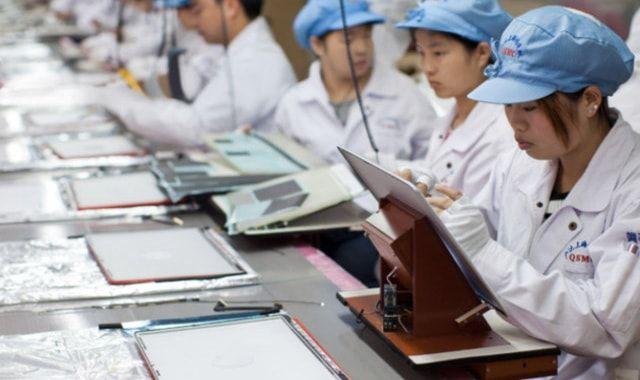 iPad, производство