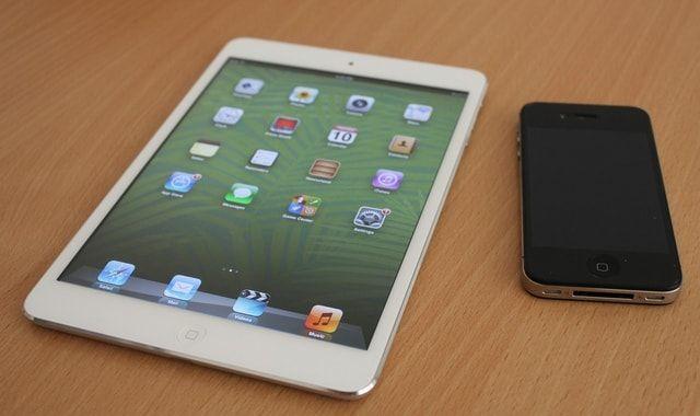iPhone 4s и iPad mini