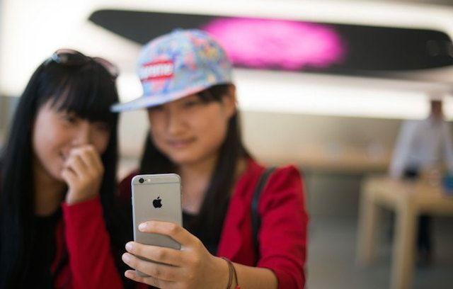 iPhone 6 в Китае
