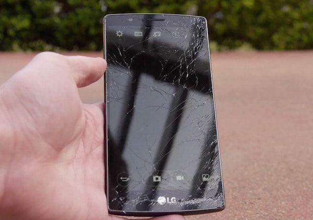 Дроп-тест LG G4 от TechRax
