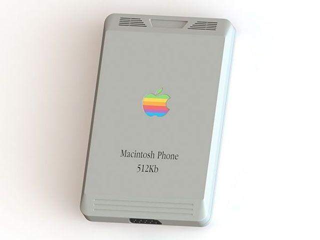 Macintosh Phone – как бы iPhone выглядел в 1984-ом