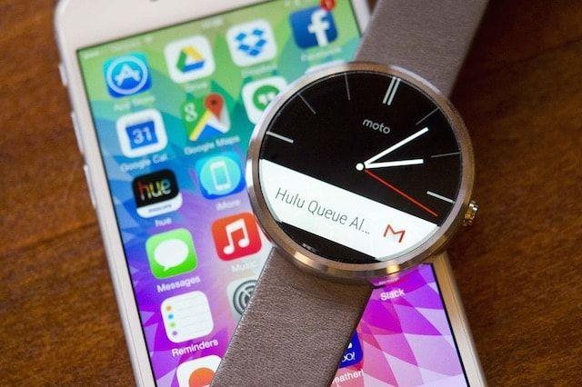 Как подключить часы Moto 360 к iPhone без джейлбрейка