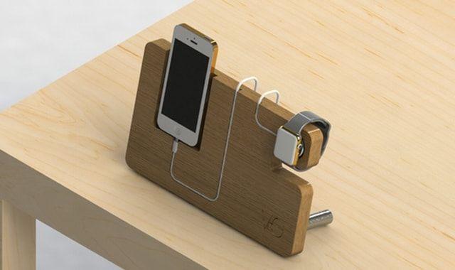 iPhon, Apple Watch, подставка